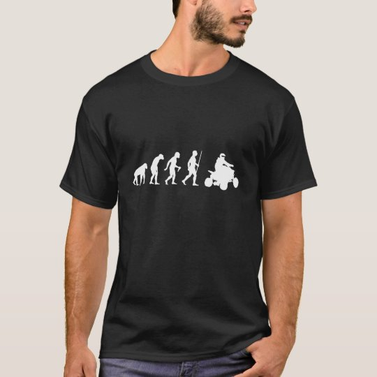 Evolution of Man and ATV T-Shirt