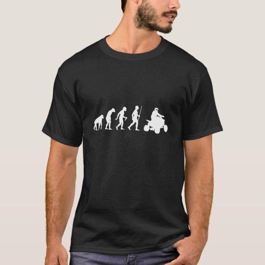 Evolution of Man and ATV T-Shirt