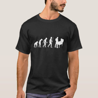 Evolution of Man and Pinball T-Shirt