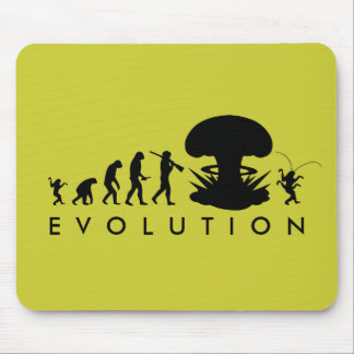 Evolution of Man & Cockroach Funny Evolution Chart Mouse Pad