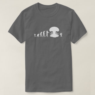 Evolution of Man & Cockroach Funny Evolution Chart T-Shirt