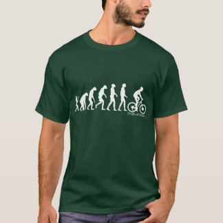 Evolution of man cycling T-Shirt