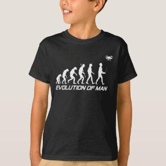 Evolution of Man Drone Shirt