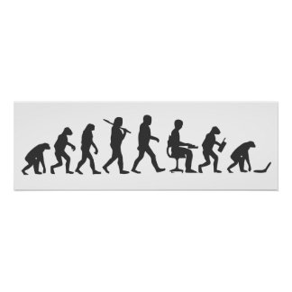 Evolution of Man Laptop Poster