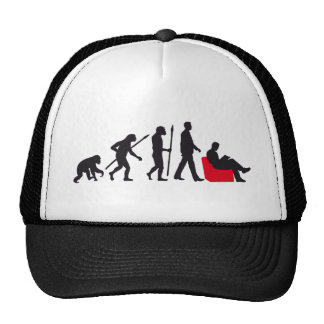 evolution of man reading a book cap