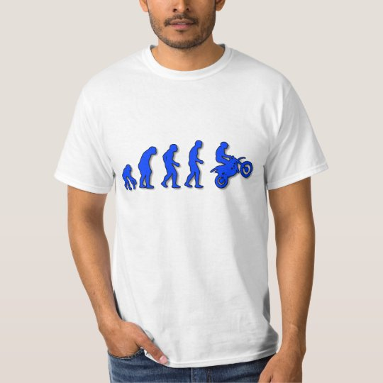 Evolution of man to motorcycle T-Shirt