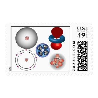 Evolution of matter stamp