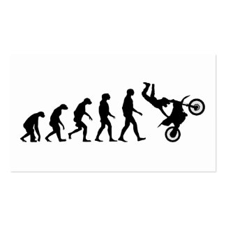 Evolution of Motocross Pack Of Standard Business Cards