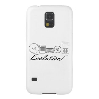 Evolution of Music Galaxy S5 Cover
