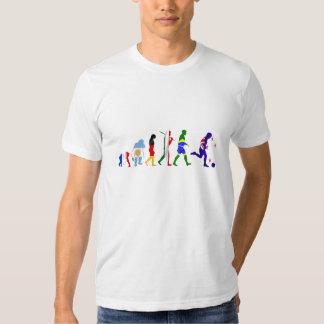 Evolution of New Zealand Soccer football T Shirts