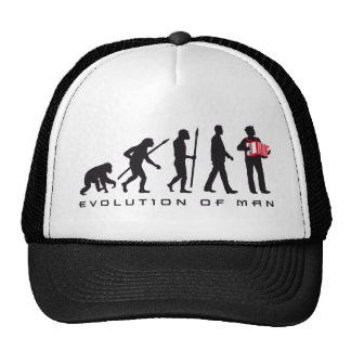 evolution OF one accordion more player sailor Trucker Hat