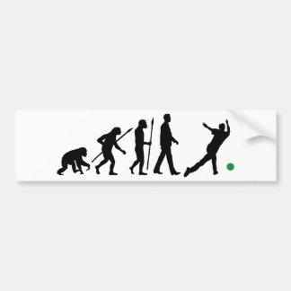 Evolution OF one bowling sport Bumper Sticker