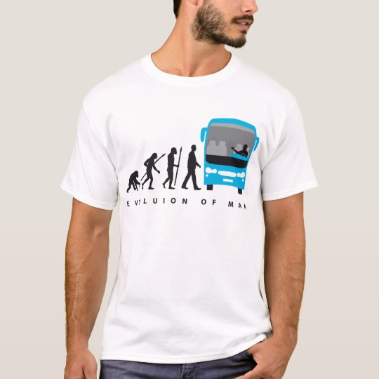 evolution OF one bus more driver T-Shirt