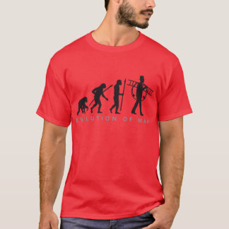 evolution OF one chimney sweeps T-Shirt