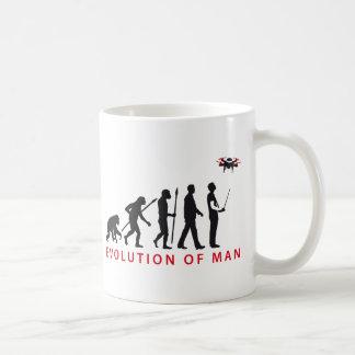 evolution OF one controlling drone Coffee Mug