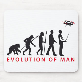 evolution OF one controlling drone Mouse Mat
