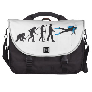 evolution OF one diving sport Commuter Bags