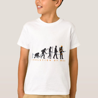 evolution OF one fire more fighter Shirt