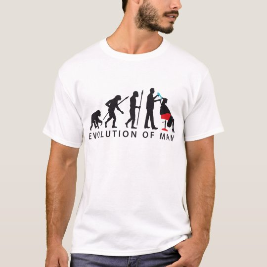 evolution OF one hair stylist T-Shirt