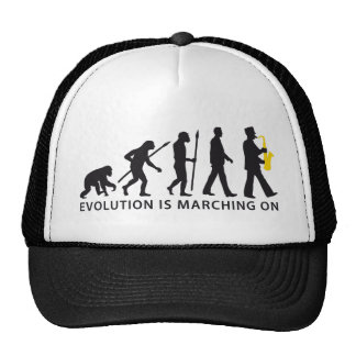 evolution OF one marching bound saxophones more Cap