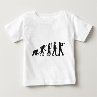 evolution OF one marching bound trumpet more playe Baby T-Shirt
