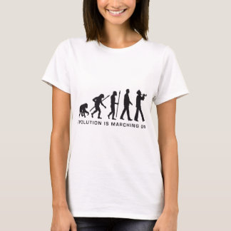 evolution OF one marching bound trumpet more playe T-Shirt