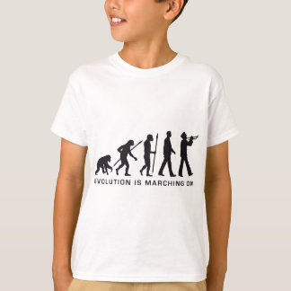 evolution OF one marching bound trumpet more T-Shirt