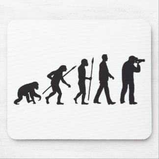 evolution OF one more photographer Mouse Mat