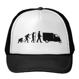 Evolution OF one Piaggio Ape mini transporter Cap
