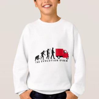 Evolution OF one Piaggio Ape mini transporter Sweatshirt