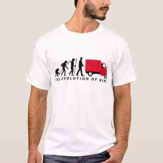Evolution OF one Piaggio Ape mini transporter T-Shirt