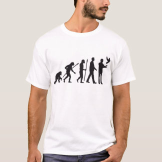 evolution OF one pigeon more fancier T-Shirt