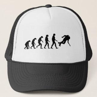 Evolution of Scuba Diving Trucker Hat