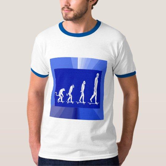 EVOLUTION  OF SKATEBOARDING T - SHIRT