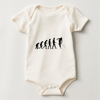 Evolution of Ski Baby Bodysuit