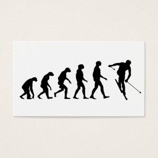 Evolution of Ski Business Card