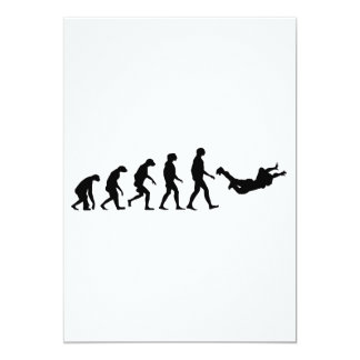 Evolution of Skydiving Card