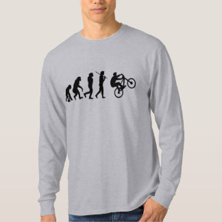 Evolution of the cyclist T-Shirt