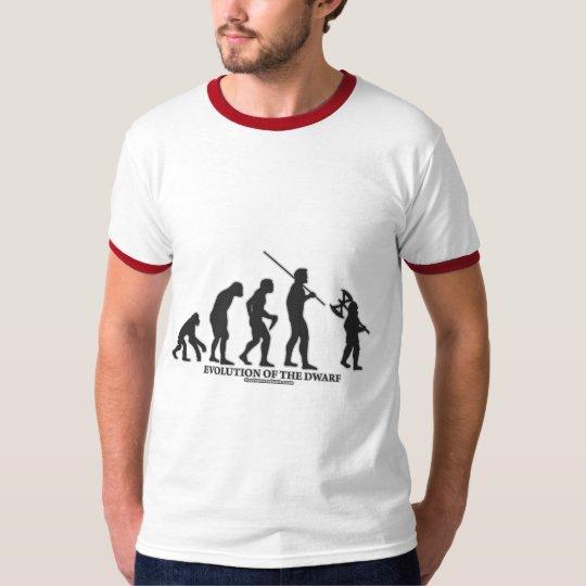 Evolution of the Dwarf T-Shirt