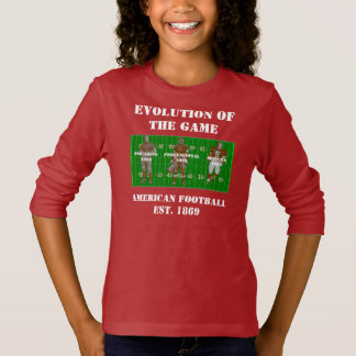 Evolution of the Game--American Football T-Shirt