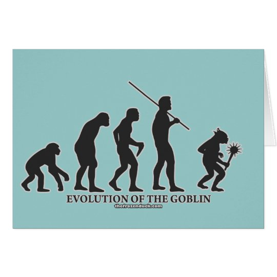 Evolution of the Goblin Greeting Card