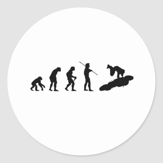 Evolution of the Highside Classic Round Sticker
