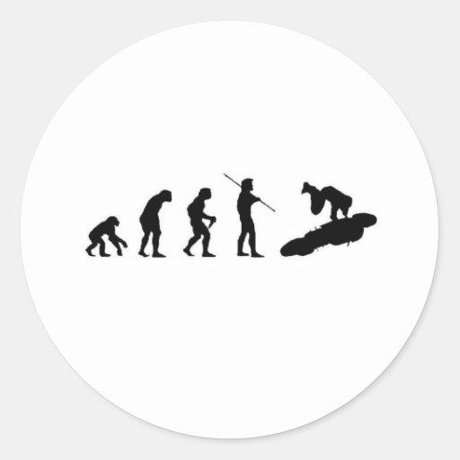 Evolution of the Highside Round Sticker