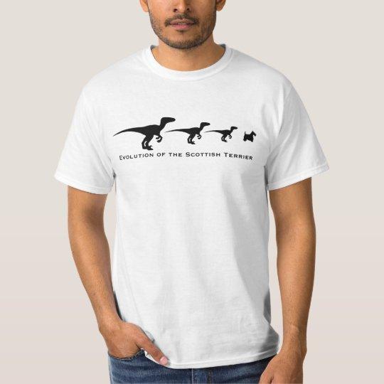 Evolution of the Scottish Terrier T-Shirt