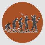 Evolution of the Zombie Hunter Stickers