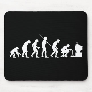 Evolution of Video Games Gaming Gamer Mouse Mat