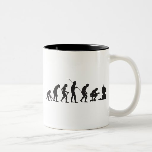 Evolution of Video Games Gaming Gamer Coffee Mug