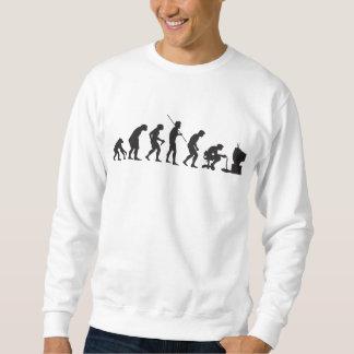 Evolution of Video Games Gaming Gamer Sweatshirt