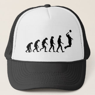 Evolution of Volleyball Trucker Hat