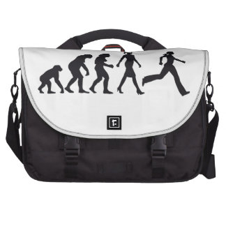 evolution OF woman jogging Bags For Laptop